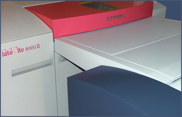 CTP - Druckplattenbelichtung