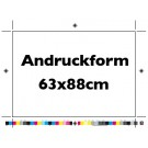 Andruck Format 63x88cm 4c